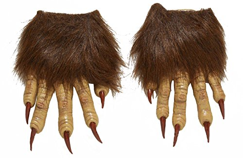 Men's Werewolf Latex Claw Hands