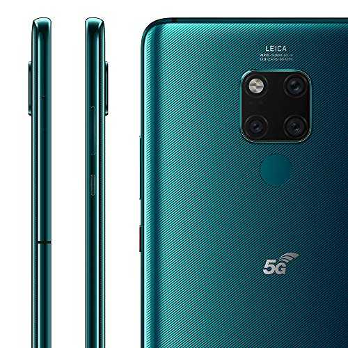 Huawei Mate 20 X (5G) Dual-SIM 256GB + 8GB RAM (GSM Only, No CDMA) Factory Unlocked Android Smartphone (Emerald Green) - International Version