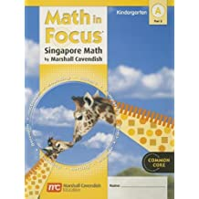 Math in Focus: Singapore Math: Student Edition, Book a Part 2 Grade K 2012