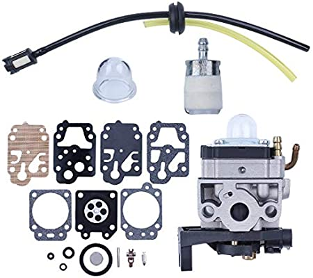 Haishine Carburador Kit de reparación de carburador para Honda GX35 GX 35 HHT35 HHT35S Desbrozadora Trimmer Desbrozadora Generador 16100-Z0Z-034