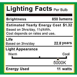 Sunco Lighting 8 Pack BR30 LED Bulb 11W=65W, 5000K Daylight, 850 LM, E26 Base, Dimmable, Indoor Flood Light for Cans - UL & Energy Star
