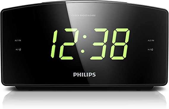 Radiorespertador Philips AJ3400/12 Despertador con Radio (