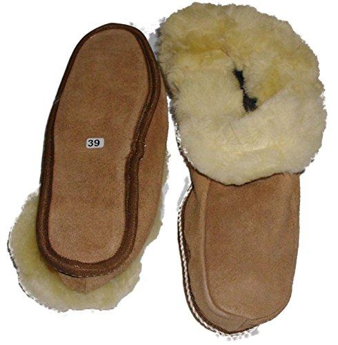 BOOM IT - Zapatillas de estar por casa para hombre Beige beige 47