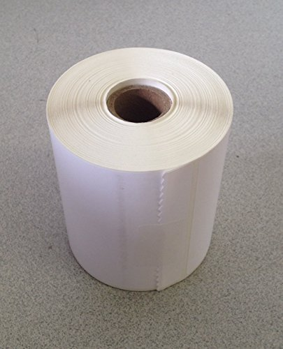 "1 Roll of 500 4"" x 3"" Direct Thermal for Zebra 2844 ZP-450 ZP-500 ZP-505 Shipping Labels, 1"" Cores. Blank Labels Brand Made in the USA."
