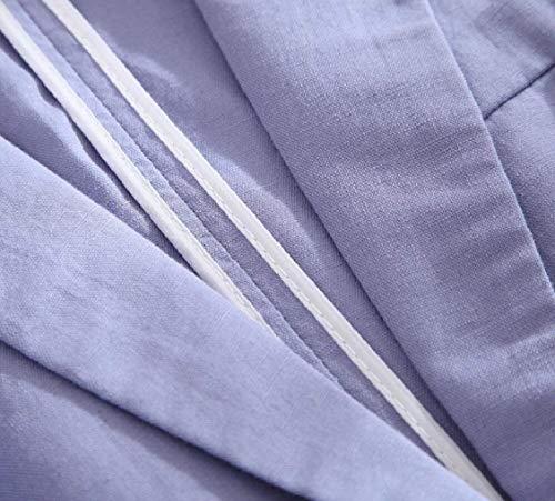 Colori Solidi di Alta Outerwear 4 Autunno Chic Leisure Bavero Button Fit Manica Camicia qualit 3 Slim Anteriori Tasche Donna Suit wq4P7n