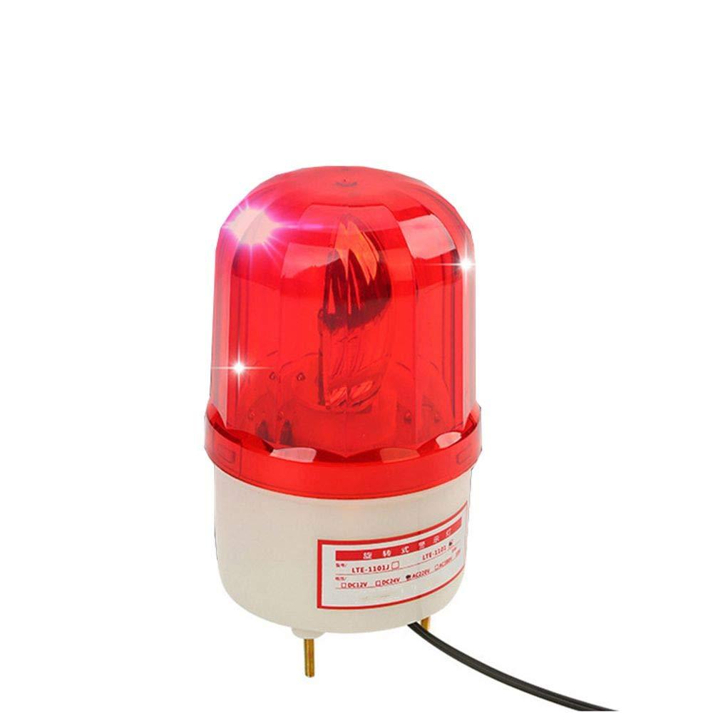LUBAN Rotating Warning Light LED Beacon Flashing Light Industrial Strobe (AC 110V) by LUBAN