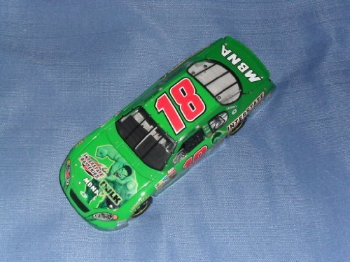 2003 NASCAR Action Racing Collectables . . . Bobby Labonte #18 Interstate Battereis / Hulk Chevy Monte Carlo 1/24 Diecast . . . Limited Edition 1 of 10,884 (Labonte Racing Bobby)