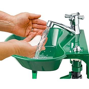 Amazon.com : Outdoor Sink and Faucet Fixture - Built-in
