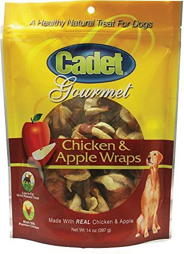 (Cadet Chicken & Apple Wraps Dog Chews, Gourmet, 14 Ounce, 6 Pack)