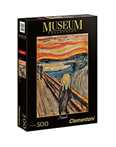 The Scream 500 Piece Edvard Munch Jigsaw Puzzle by Clementoni