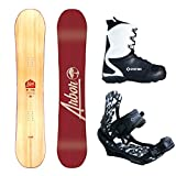 Arbor Foundation Men's Complete Snowboard Package 2018