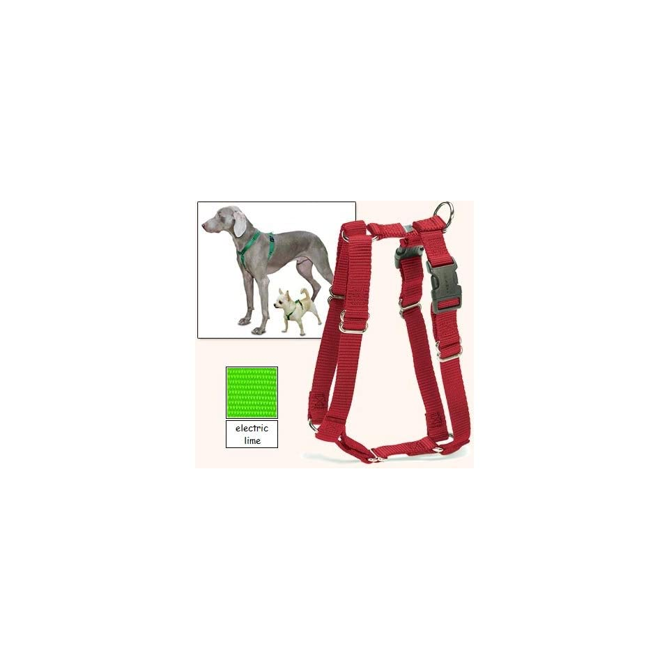 Sure Fit Dog Harness, 5 Way Adjustability for a Perfect Fit (Electric Lime, X Petit)