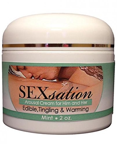 Sexsation Arousal Cream Mint 2oz by Sexsation