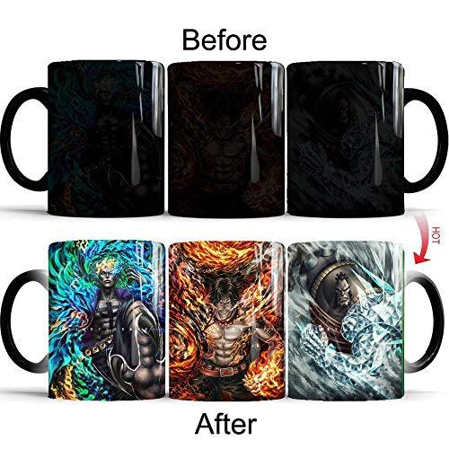 Unemployed Philosophers Guild Star Trek Transporter Heat Changing Mug 1pc Coffee cup (Star Trek Transporter Heat Changing Coffee Mug)