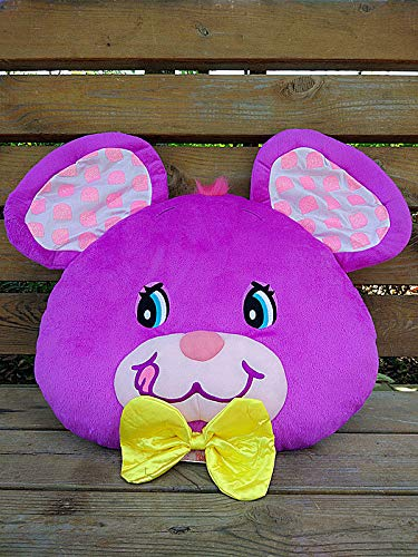 FidgetGear Jumpin Jellybean Bunny Cherry Bear Rabbit Plush Cushion Pillow Purple Bunny from FidgetGear