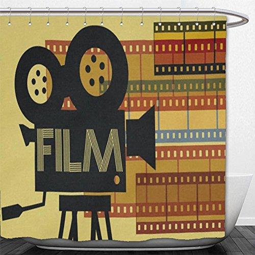 Beshowere Shower Curtain Film Cassette Cotton Linen x.jpg