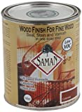 SamaN SAM-305-1L 1-Quart Interior Stain for Fine Wood for Seal, Stain and Varnish, Colonial by Saman
