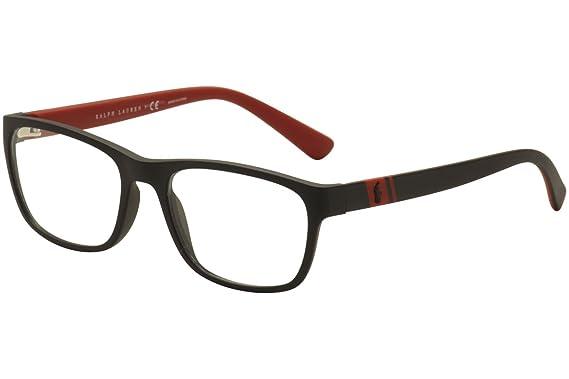 Polo PH2153 Eyeglass Frames 5247-53 - Matte Black PH2153-5247-53 at ...