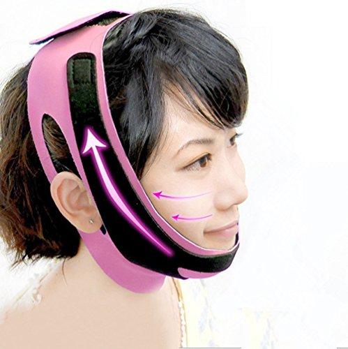Girdle Line (StyleZ Chin Cheek Slim Lift Up Anti Wrinkle Mask Ultra-thin V Face Line Belt Strap Band)