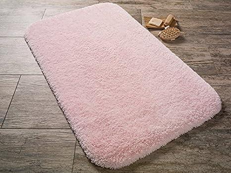Tappeto Da Salotto Rosa : Confetti tappeto da bagno tappeto tappetino unicolore rosa lavabile