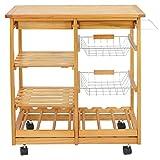 Nova Microdermabrasion Rolling Wood Kitchen
