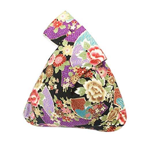 Cotton Bag Wristlet Handbag...