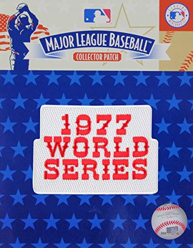 MLB World Series Patch - 1977 Yankees