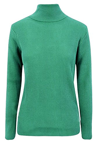 Donna Jade LTD LIFE FASHION REAL Green Maglione qwaZ6ap