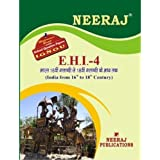 EHI4-India -From 16th to mid-18th Century (IGNOU help book for EHI-4 in Hindi Medium )