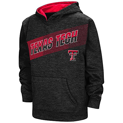 Youth NCAA Texas Tech Red Raiders Pull-Over Hoodie (Team Color) - L