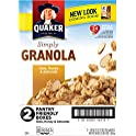 2-Pk. Quaker Simply Granola Oats, Honey & Almonds (28 Oz Box)