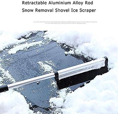 Retractable Shovel Snow Shove Aluminium Alloy Rod Windshield Ice Scraper Outdoor Ski Sport Snowboard Snow Tool Garden Tools