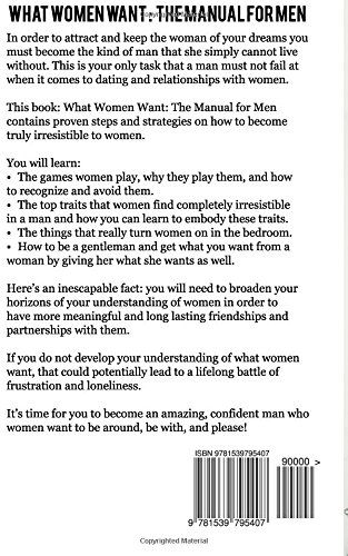 What men need from women