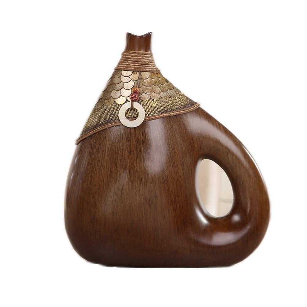 円柱装飾花瓶 ホームデコレーション花瓶AXZHYZ19052601クリエイティブ樹脂装飾植物花瓶33×16×35センチ 写真円柱装飾花瓶ライフ花瓶フラワーショップブーケボックス B07SCVKRQ2
