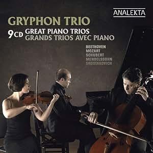 Great Piano Trios / Grands trios avec piano 9CD
