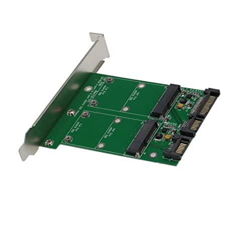 MagiDeal 2 en 1 Combina Mini Pci-e M.2 Ngff Msata Ssd a ...
