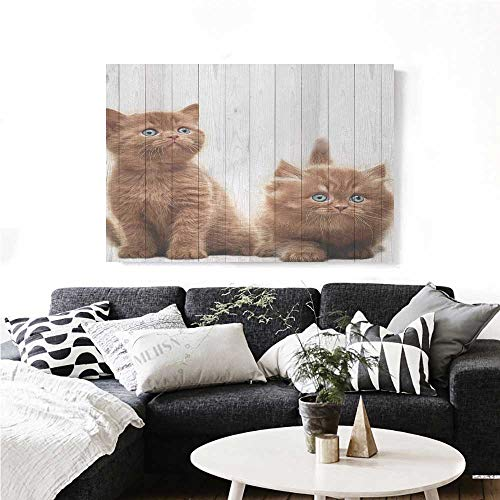 Monitor The Baby Winnie Pooh (homehot Animal The Picture for Home Decoration Cute Kittens Baby Cats Sweet Feline Kids Nursery Child Kitty Theme Artwork Print Customizable Wall Stickers 28