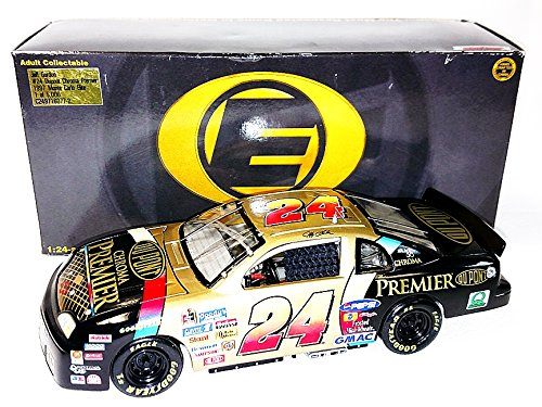 - AUTOGRAPHED 1997 Jeff Gordon #24 DuPont Racing CHROMA PREMIER (Hendrick Motorsports) Vintage 1/24 Signed Action/RCCA Elite NASCAR Diecast Car with COA (#2956 of only 5,000 produced!)