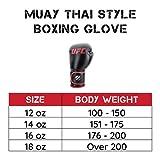 UFC Muay Thai 14oz Training Gloves - Muay Thai