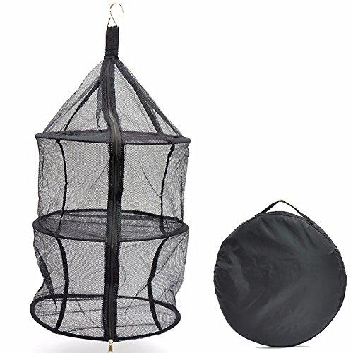 EIF Fei Outdoor Nylon Folding Dry Mesh Hanging Dryer Rack wi