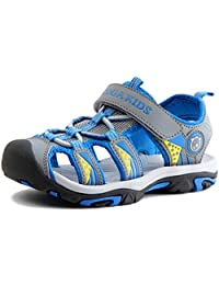 PPXID Boy's Girl's Outdoor Adventure Skidproof Closed-Toe Summer Sandals