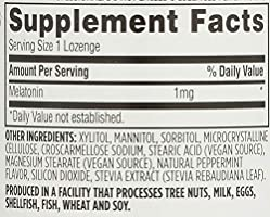 365 Everyday Value, Melatonin Lozenges 1mg, Peppermint Flavor, 120 ct