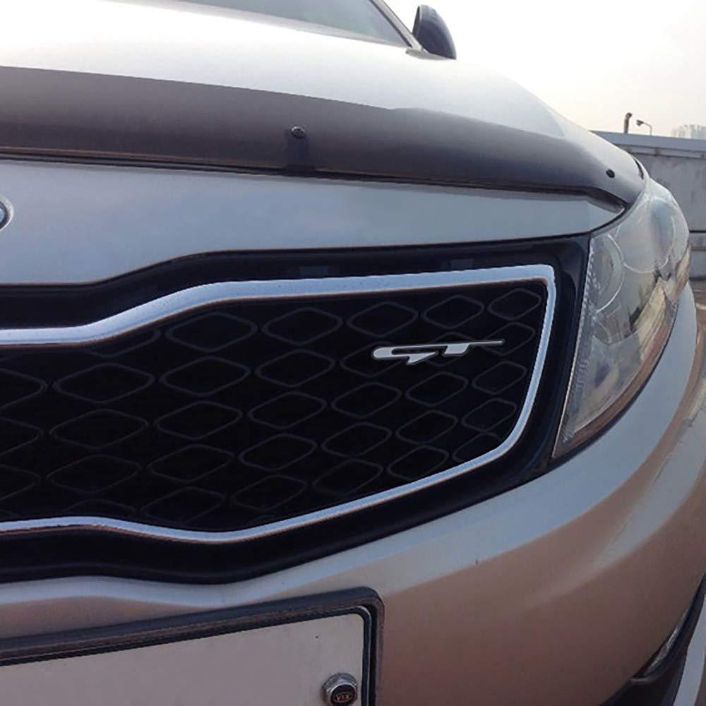 TOOGOO Cool Adesivo Stile Auto 3D Adesivo Lettere Linea GT per Rear Trunk Parafango Auto Porta Adesivi GT Line