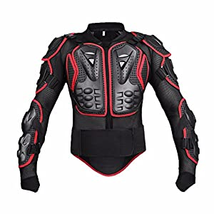 Motorcycle full body armor protective jacket for Motorcycle body armor shirt