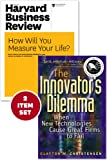 img - for The Innovator's Dilemma with Award-Winning Harvard Business Review Article ?How Will You Measure Your Life?? (2 Items) book / textbook / text book