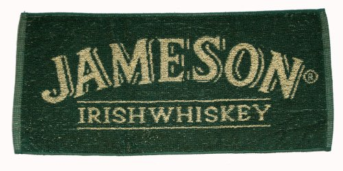 Jameson Irish Whiskey Cotton Bar Towel ()