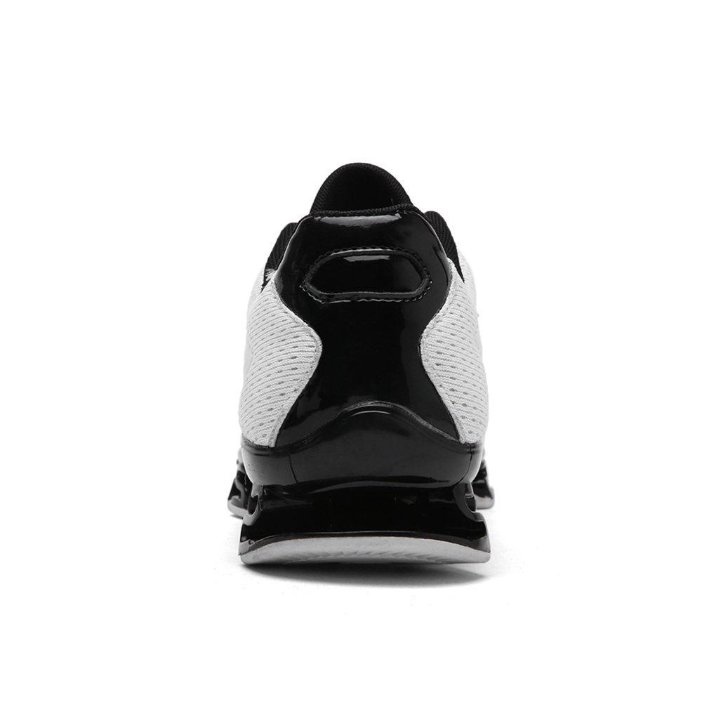 NANXIE Zapatos Deportivos Ligeros para Hombres Zapatos Deportivos multifuncionales Zapatos Deportivos para Hombres nuevos de Malla Respirable de Verano (Color : Blanco, tamaño : 46) 46|Blanco