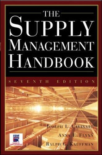 The Supply Mangement Handbook  7Th Ed  General Finance   Investing