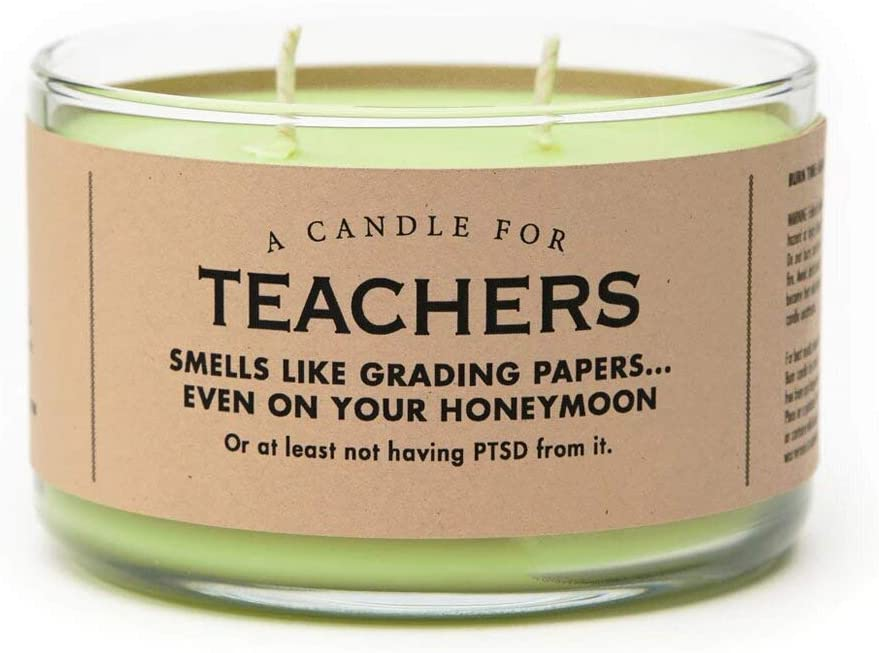 Whiskey River Soap Co. Candle (Teachers)