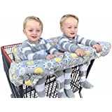 ZXYWW Twin Double Shopping Cart Cover For Baby Siblings...